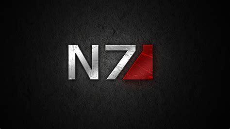 Mass Effect N7 Wallpaper Image