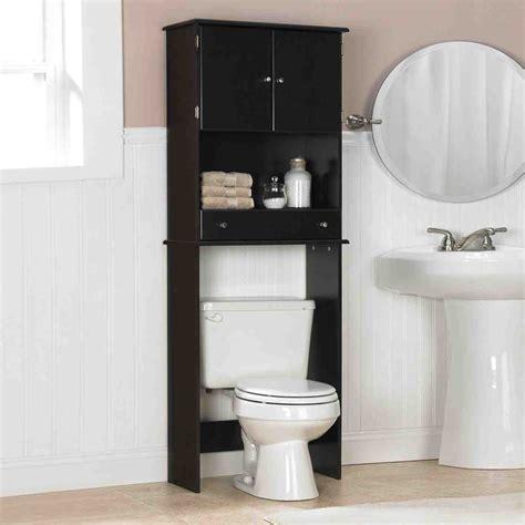 black bathroom storage cabinet decor ideas