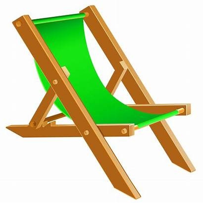 Chair Transparent Beach Clipart Background Summer Chairs