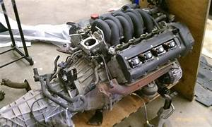 Xk8 Engine    Transmission Part Out