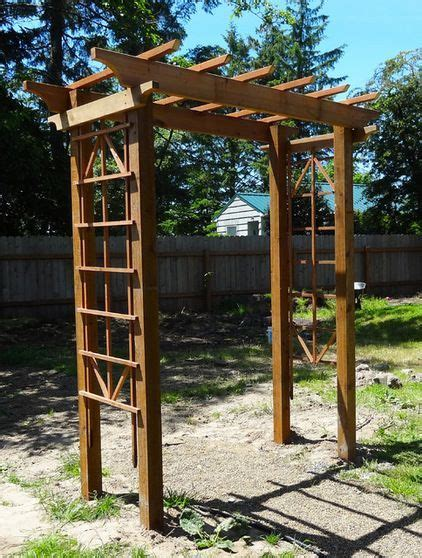 diy arbor  meg padgett  plans   gorgeous arbor