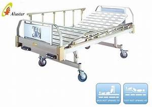 Double Function Medical Manual Hospital Patient Crank Bed