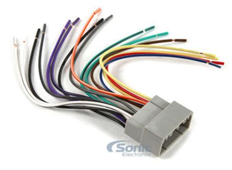 scosche crb wire harness  select   chryslerjeep vehicles