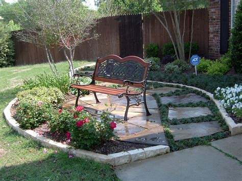seating area   front yard nested   landscape
