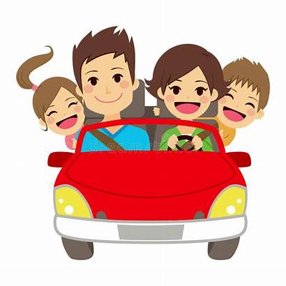 Clipart Happy Traveling Clip Illustration Members Four