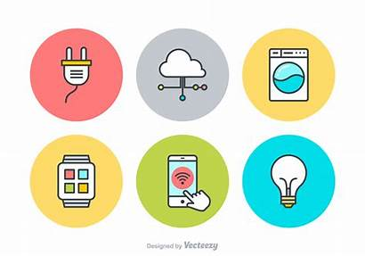 Internet Things Vector Icons Iot Icon Clipart