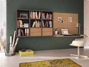Schreibtisch Im Wohnzimmer Integrieren : 15 id es de rangements pratiques et astucieuses ~ Bigdaddyawards.com Haus und Dekorationen