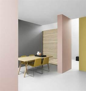 nos astuces en photos pour peindre une piece en deux With couleur peinture mur exterieur 3 peinture dulux valentine brun cachemire couleur de l