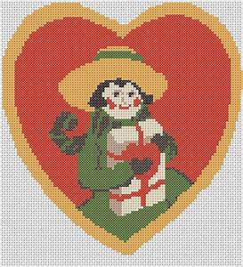 Wedding Card Pattern Vintage Free Cross Stitch Pattern