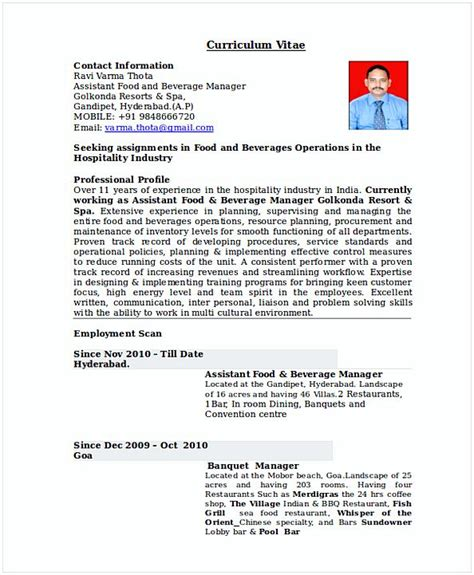 Restaurant Manager Resume Template by Restaurant Manager Resume Template