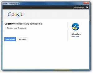 gdocdrive oauth sign in With google docs drive login