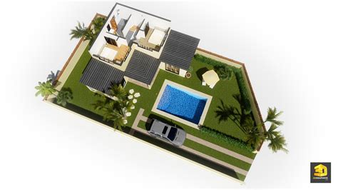 cuisine perspective illustrations 3d d 39 architecture villas gabriel