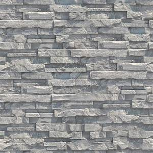 Stone cladding internal walls texture seamless 08111