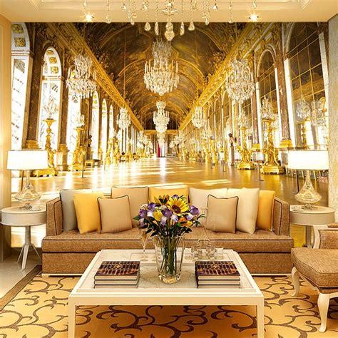 customized luxury european royal palace wallpaper roll
