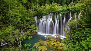 National, Park, Plitvice, Lakes, Waterfalls, Croatia, Landscape, Wallpapers, Hd, For, Desktop, Mobile, And