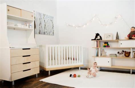chambre bebe bois blanc décoration chambre bébé garçon et fille jours de joie et