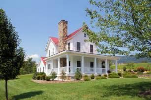 afton virginia farmhouse farmhouse exterior richmond by smith robertson inc - Farmhouse Houseplans
