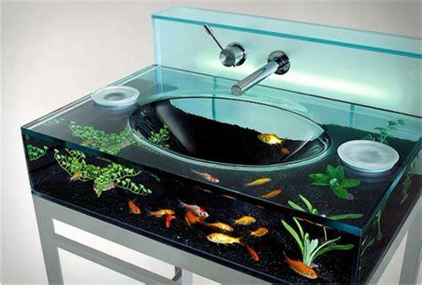 la décoration avec un meuble aquarium archzine fr