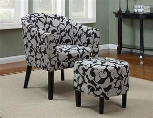 Floral Ottoman Winners Only Furniture Ashford Collection