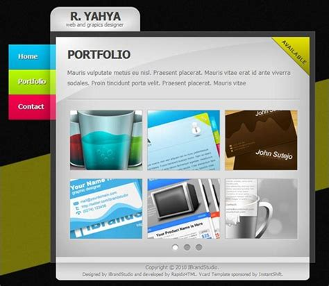 vcard template free 55 best vcard template selection for cvs