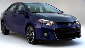 2014 Toyota Corolla S In Blue Crush Metallic