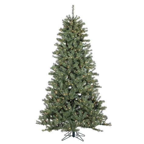 7 5 foot pre lit christmas tree realistic spruce with 500