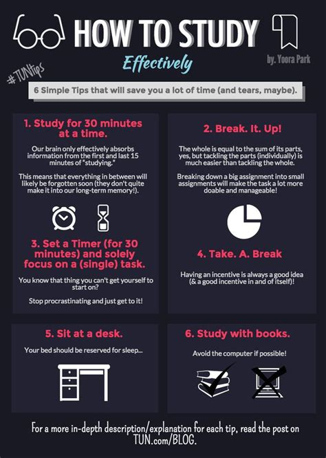 6 Simple Tips To Study Effectively  Time Management  Pinterest  Peace, College And School