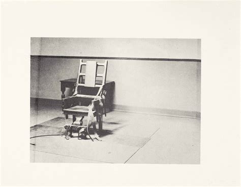 andy warhol electric chair prints multiples auction