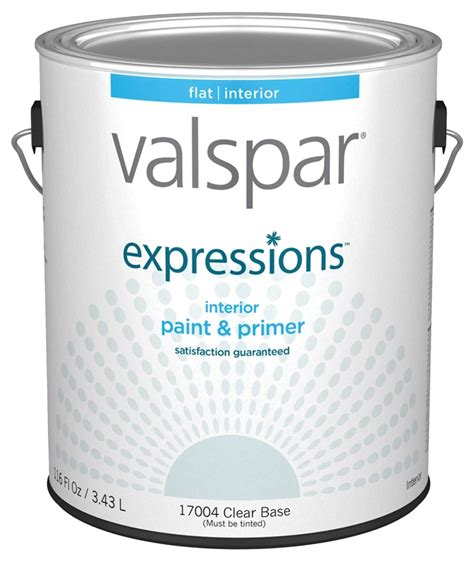paint exp int flat clear gal case of 4