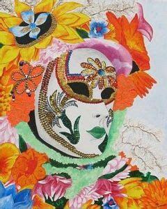 venise chambre d hote masque vénitien peinture annick brigel