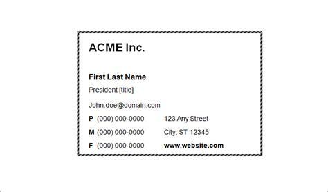 blank business card templates ai word psd