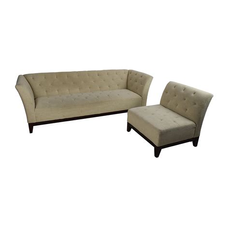 tufted sectional sofa with chaise 63 off macy 39 s macy 39 s tufted sofa with modular chaise