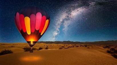 Balloon Air Valley Death Milky Way California