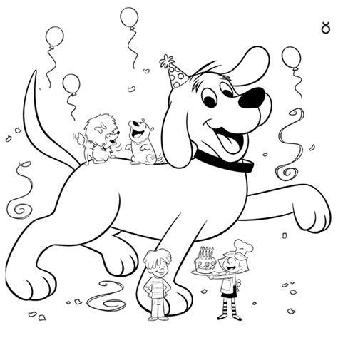 Kleurplaat Hond Verjaardag by Kleurplatenwereld Nl Gratis Verjaardags Kleurplaten