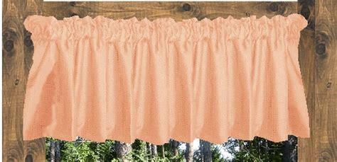 peach cafe curtains