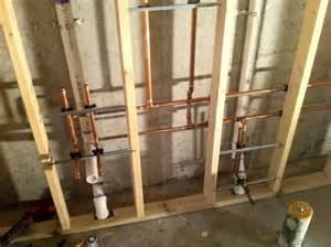 plumbing for new bathroom in basement yelp