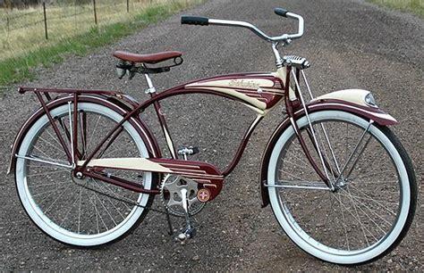1948 as schwinn b 607 ballooner postwar autocycle bicycle