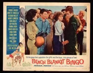 Beach Blanket Bingo (1965) lobby cards | Beach Party Movies