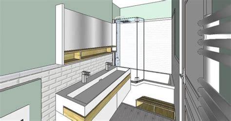 agencement de salle de bain de  marie claire