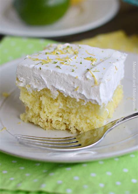 lemon lime soda cake meatloaf  melodrama