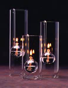 Home  Glass Oil Candle Lamps  Chimney Lamps Handblown Glass Oil Lamp