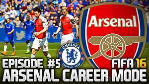 FIFA 16: ARSENAL CAREER MODE #5 - THE TOUGHEST MATCH ...