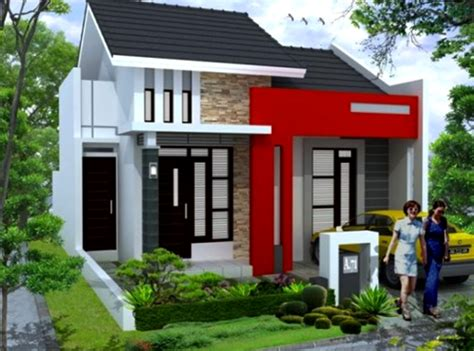 model desain rumah masa kini terbaru di indonesia desain