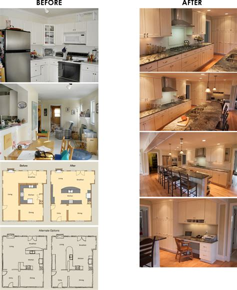 remodel kitchen island kitchen remodel before after woodwise design