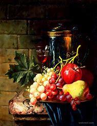 Fruits Still Life Oil Painting