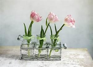 Bilder Deko Ideen : deko mit tulpen laden sie den fr hling ins haus ein ~ Watch28wear.com Haus und Dekorationen