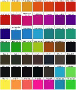 pantone color chart  template business