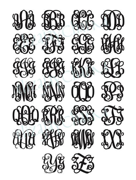 elizajaycharm monogram styles