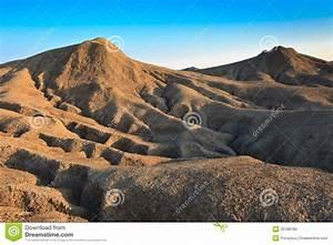 Mud Volcanoes In Buzau  Romania Stock Photo