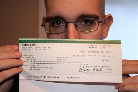 The Iconic Google Adsense Check And My 10 Year Journey